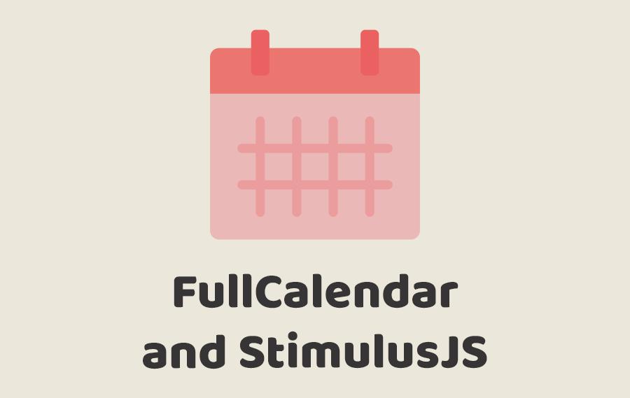FullCalendar with StimulusJS