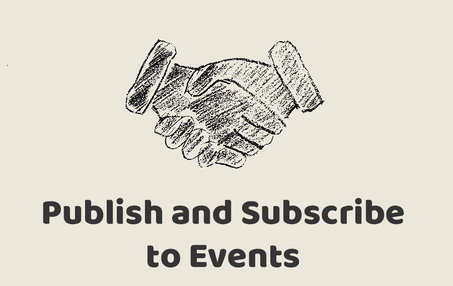 Publish and Subscribe to Events