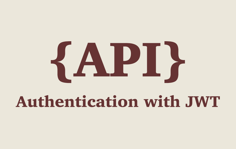 Rails API - Authentication with JWT