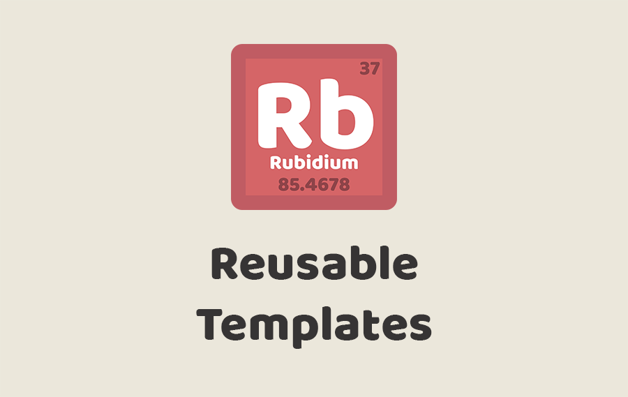 Reusable Ruby on Rails Application Templates